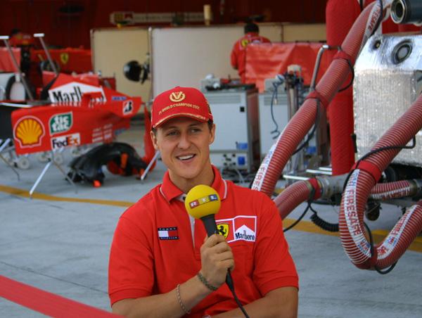 M.Schumacherio atsakas C.McRae'ui