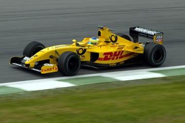 Puikios G.Fisichellos lenktynės