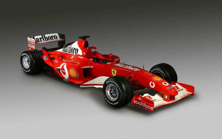 "2003 bolidai: ""Ferrari F2003-GA"""