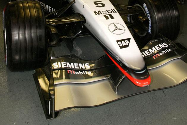 """Radikalus """"McLaren"""" priekinis sparnas"""