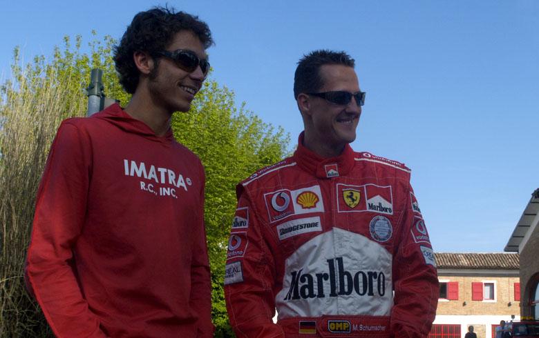 M.Schumacheris: V.Rossi pasirodė teigiamai