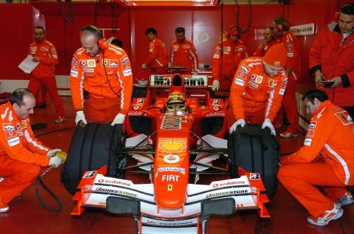 Bandymai: 2005-08-02, Monza