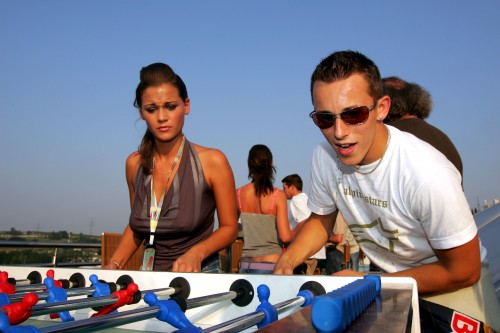 C.Klienas lenktyniaus Turkijoje ir Italijoje
