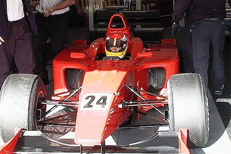 "E.Toccacelo – ""Minardi"" trečiasis pilotas"