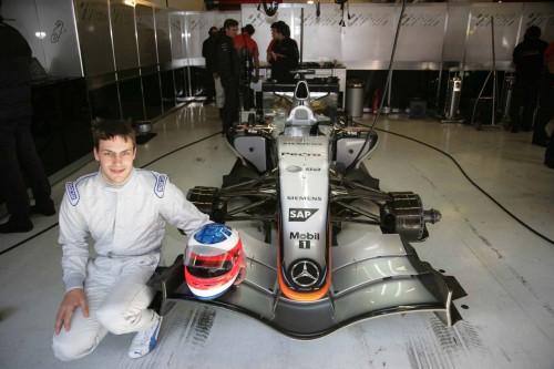 """G.Paffettas iškeitė DTM į """"McLaren"""""""