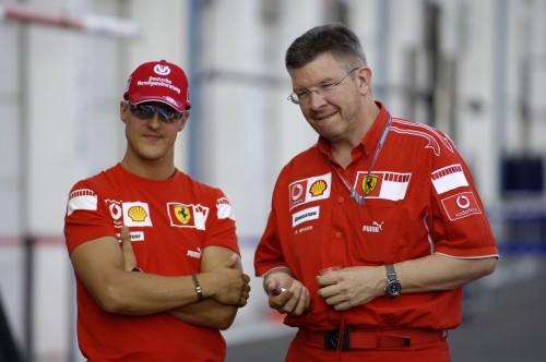 R. Brawnas: sunku palyginti L. Hamiltoną su M. Schumacheriu