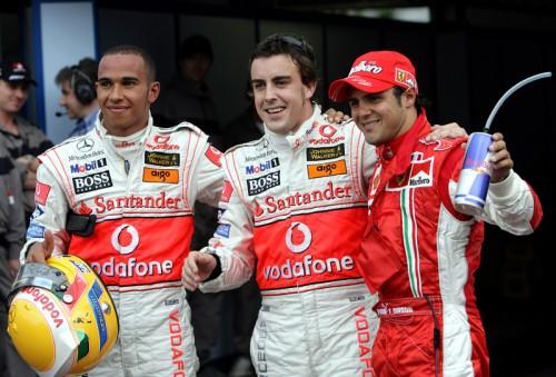 F. Alonso: sunku palyginti L. Hamiltoną su F-1 geriausiais