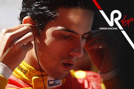 "L. di Grassi patvirtintas ""Virgin"" lenktynininku"