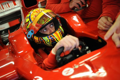 """Yamaha"": V. Rossi gali pasukti į F-1"