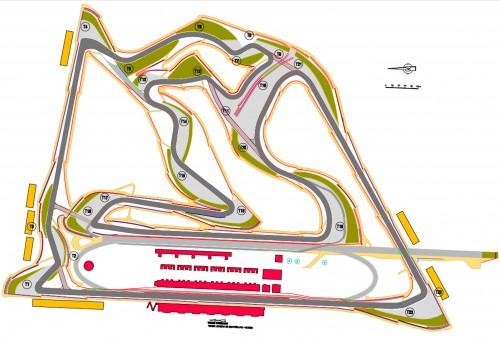 Bahreino GP vyks modifikuotoje trasoje
