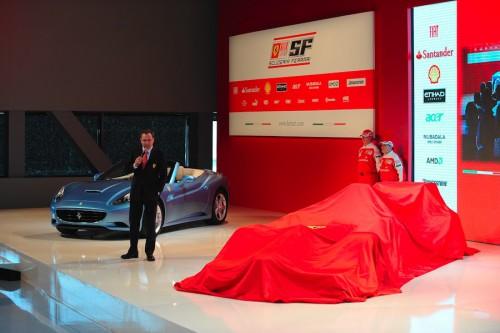 """Ferrari"" bolidą pristatys savo bazėje"