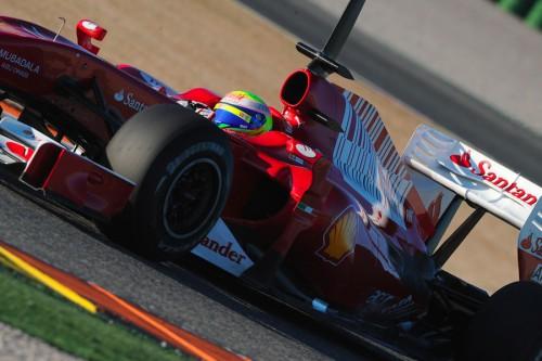 "F. Massa: ""Ferrari F10"" vairuoti lengviau nei F60"