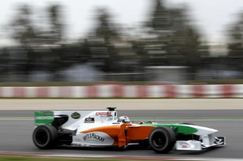 Bahreino GP: penktadienio treniruotės Nr. 1