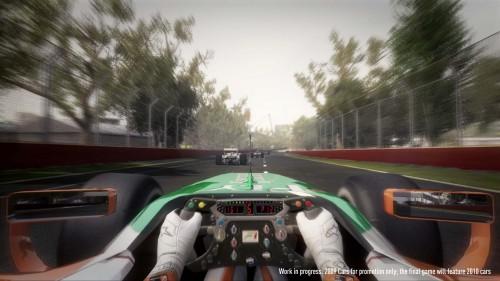 """""""F1 2010"""" žaidimas įgauna kontūrus"""