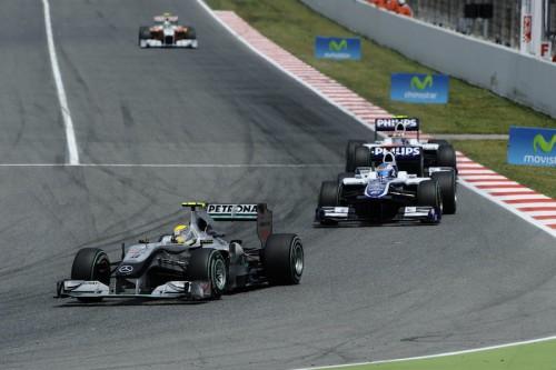 N. Rosbergas: bolido atnaujinimas man nepasiteisino