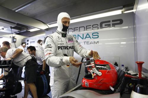 M. Schumacheris: trasoje dovanų nedalinu