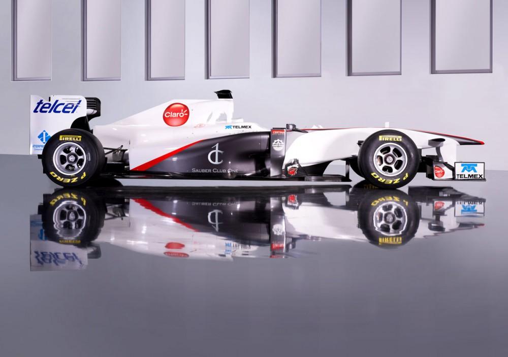 """""""Sauber"""" bolidą pristatys vasario 6 d."""
