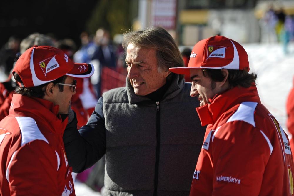 L. di Montezemolo: M. Schumacheris įtikinėjo mus paimti S. Vettelį