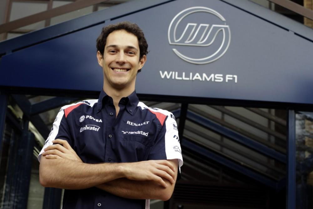 """Oficialu: B. Senna lenktyniaus """"Williams"""""""