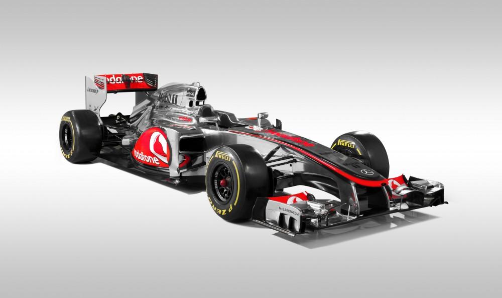 """""""McLaren"""" pristatė savo naująjį bolidą MP4-27"""