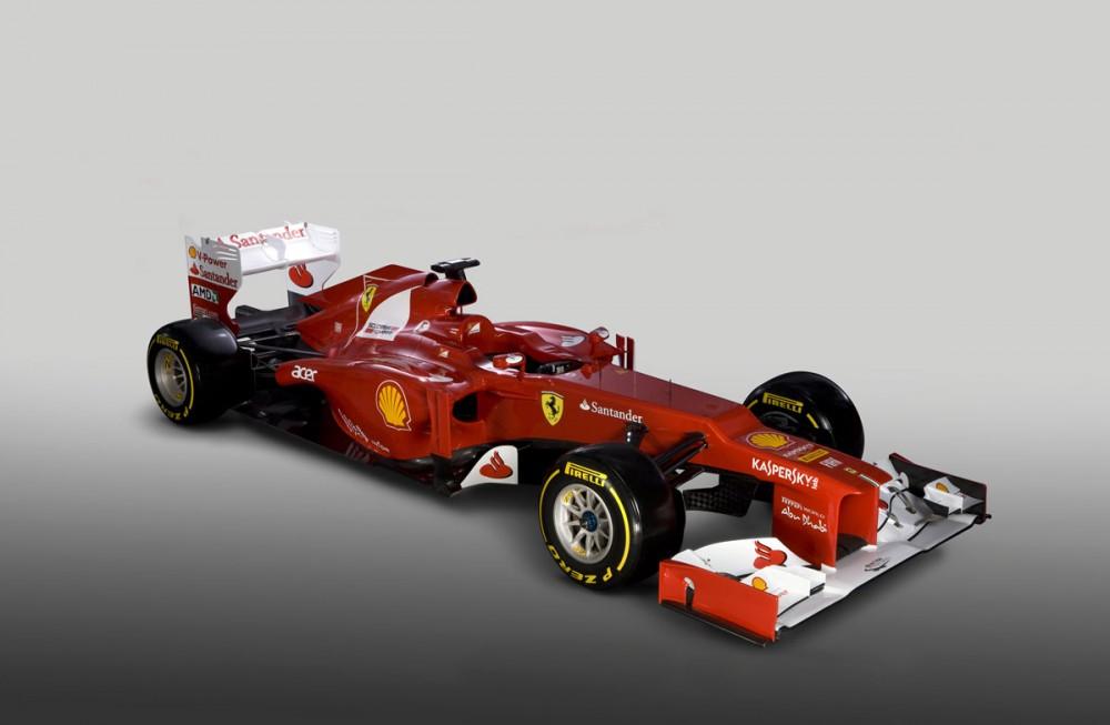 """Oficialiai pristatytas """"Ferrari F2012"""""""