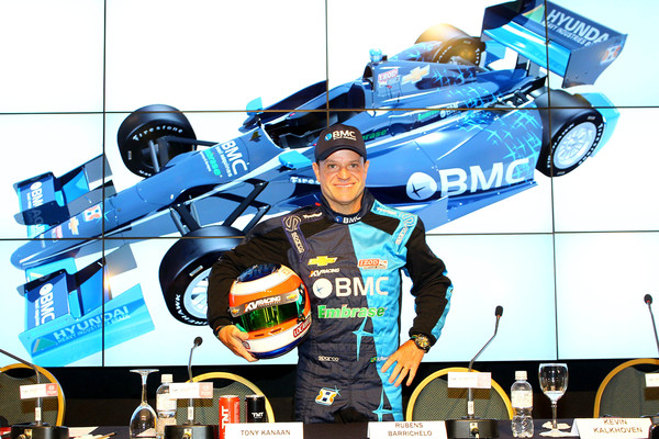 "IndyCar. R. Barrichello lenktyniaus ""IndyCar"" čempionate"