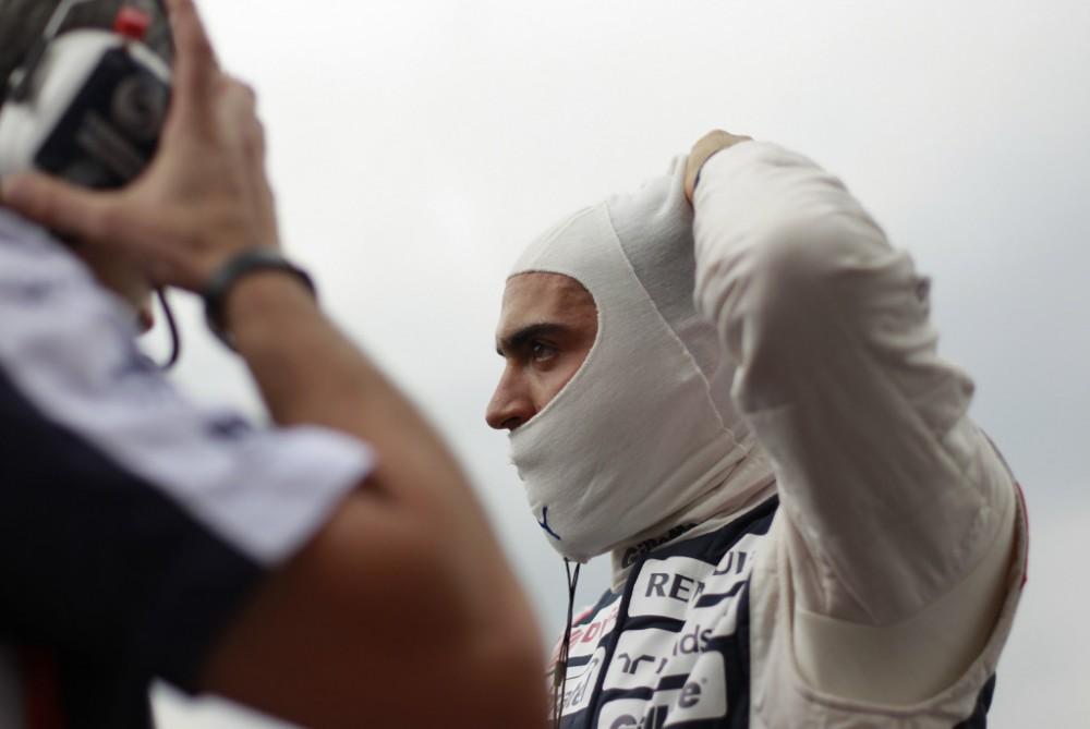 P. Maldonado startuos penkiomis vietomis žemiau