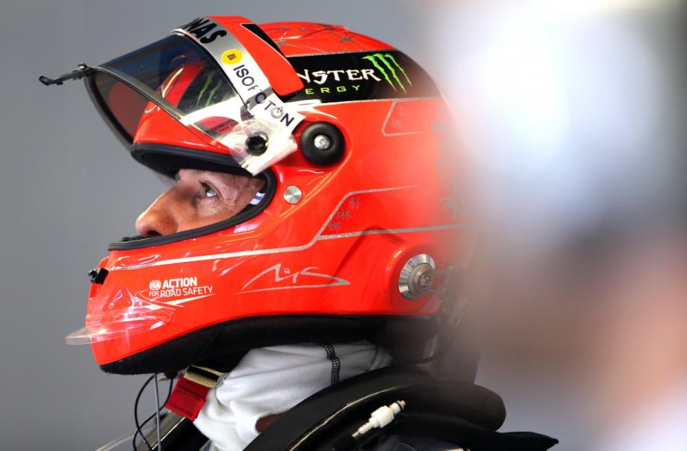 Teisėjai nubaudė M. Schumacherį 10 starto vietų bauda