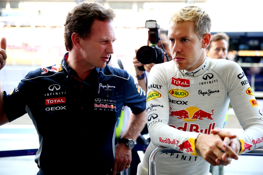 """C. Horneris: be galo maža tikimybė, kad S. Vettelis grįš į """"Red Bull"""""""