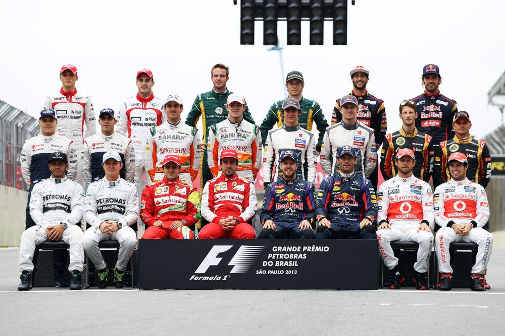 FIA paskelbė 2014 m. F-1 dalyvių sąrašą ir numerius