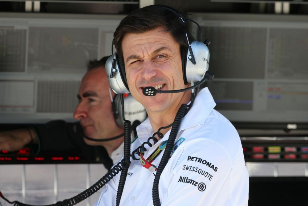 """Ferrari"" vetuotu siūlymą skirti T. Wolffą F-1 vadovu"