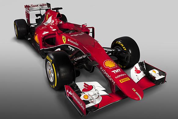 "Techninės naujojo ""Ferrari"" SF15-T charakteristikos"