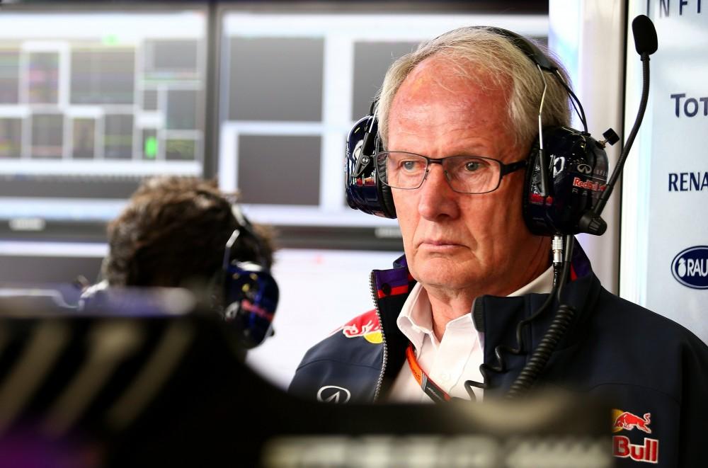 """H. Marko mėgina raminti situaciją dėl """"Renault"""" ir """"Toro Rosso"""""""