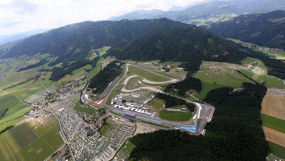 Austrijos GP: važiavimų tvarkaraštis