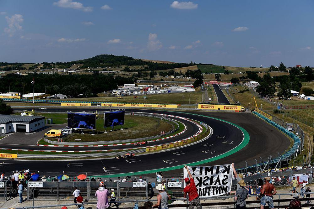 FIA įspėjo dėl trasos ribų laikymosi taisyklių Vengrijoje