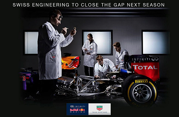 """""""Red Bull"""": """"Renault"""" varikliai vadinsis """"TAG Heuer"""""""