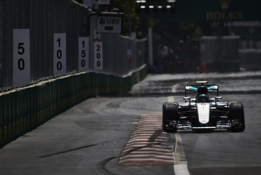 N. Rosbergas: bolide jaučiausi puikiai