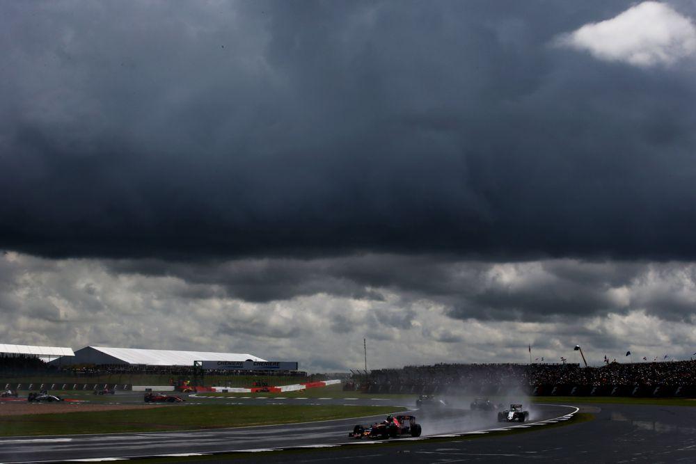 Didžiosios Britanijos GP: šeštadienio treniruotė