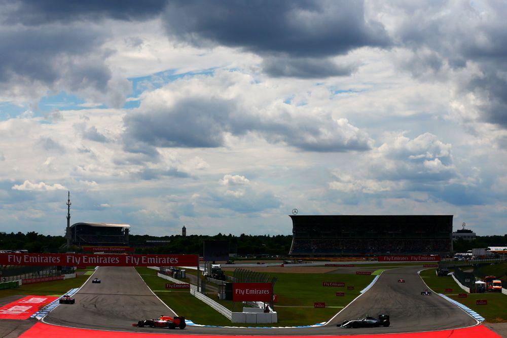 Vokietijos GP: važiavimų tvarkaraštis