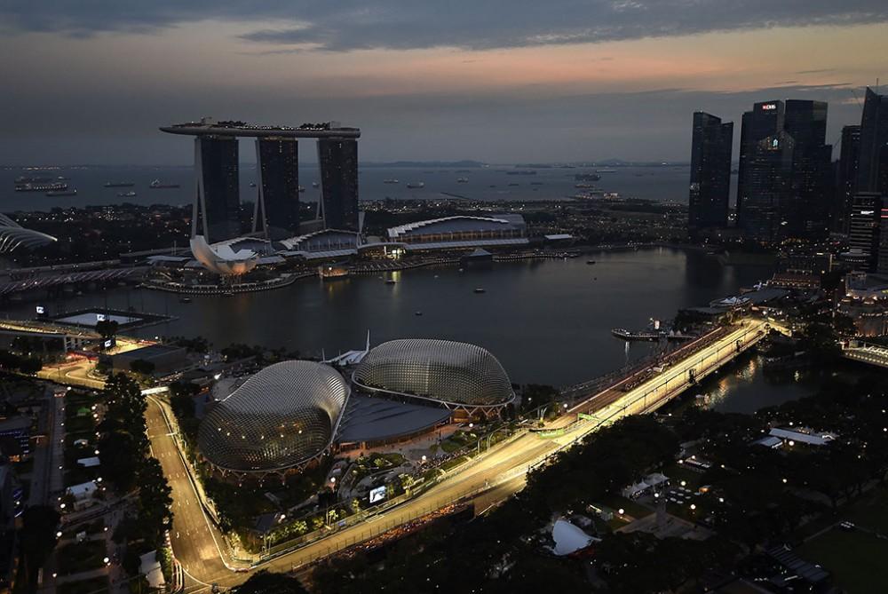 Singapūro trasa sutrumpinta 2 metrais