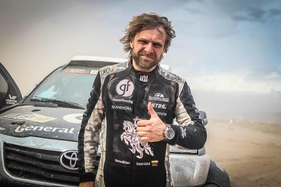 Dakaras. Pagrindinio rėmėjo netekęs B. Vanagas gali praleisti Dakaro ralį