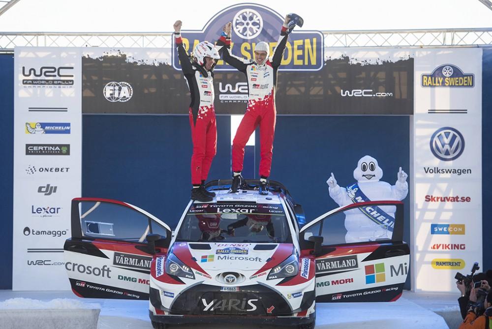 """WRC. Švedijos ralyje - pirmoji """"Toyota"""" pergalė nuo 1999 m."""
