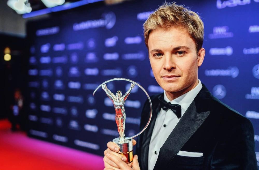 "N. Rosbergui - ""Laureus"" apdovanojimas"