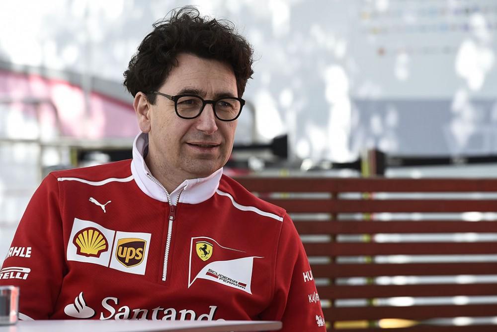 """A. S. Damiani: """"Ferrari"""" akcininkai laukia iš M. Binotto pergalių"""