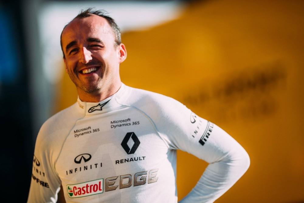 """""""Renault"""" ekipos vadovas apie R. Kubicos sugrįžimą: jo tempas yra labai geras"""