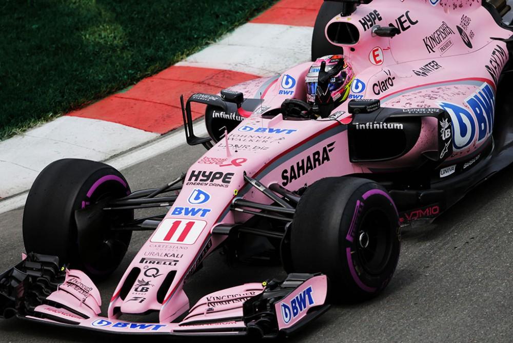 """""""Force India"""" gali pakeisti komandos pavadinimą"""