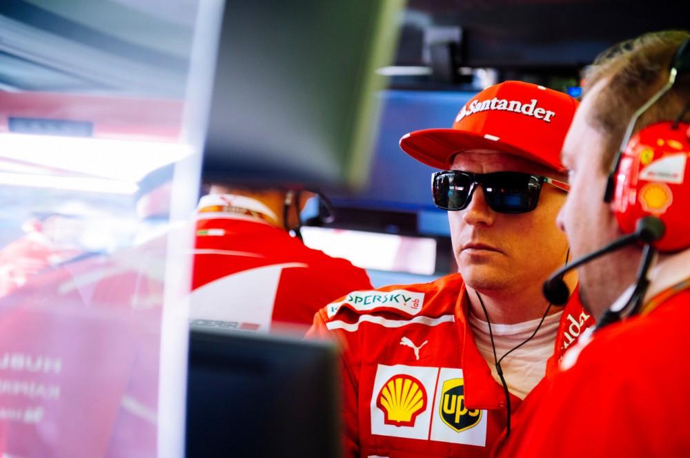 """K. Raikkonenas lieka """"Ferrari"""" ir 2018 metais"""