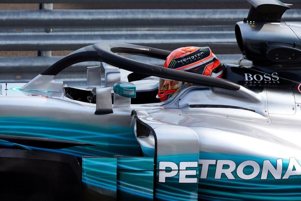 """G. Russellas žada debiutuoti """"Formulėje-1"""" 2019 metais"""