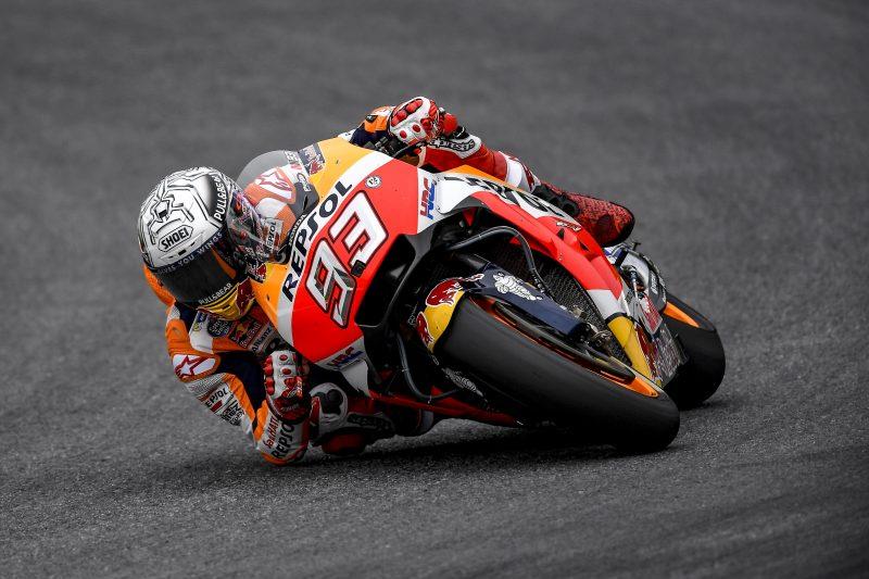 "MotoGP. Austrijoje - trečioji iš eilės M. Marquezo ""pole"""
