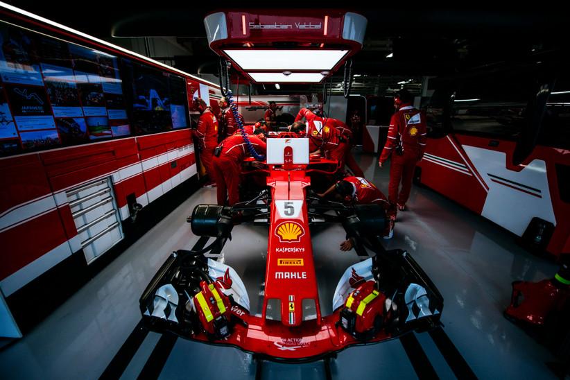 """W. Buxtonas: situacija """"Ferrari"""" sujaukta"""